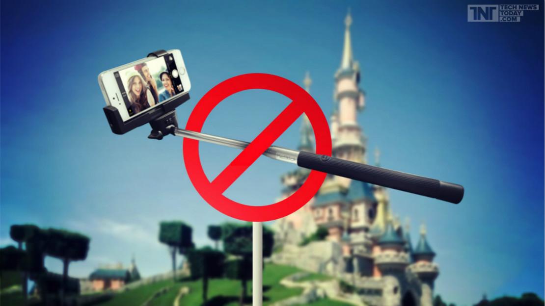 a disney proibiu o uso de pau de selfie em seus parques o mundo disney. Black Bedroom Furniture Sets. Home Design Ideas